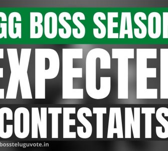 Bigg Boss Telugu Expected Contestants in Season 5