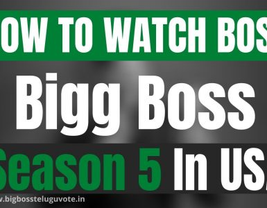 How to Watch Bigg Boss Season 5 Telugu in USA