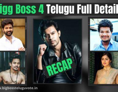 Bigg Boss 4 Telugu Full Details